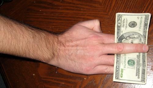 Vegas $20 trick